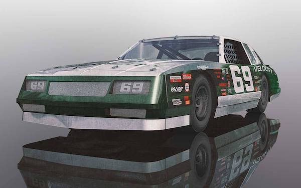 Scalextric C3947 Chevrolet Monte Carlo 1986 – Green