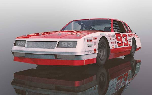 Scalextric C3949 Chevrolet Monte Carlo 1986 No.93 – Red