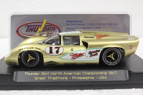 Thunderslot LEMI101S/W Lola T70 MKII Miller 2017 Thunder Slot Championship car