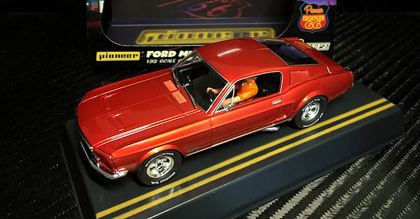 Pioneer P054 Mustang Fastback Bright Orange Route 66 Edition