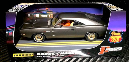 Pioneer P089 Dodge Hemi Charger Midnight Grey Route 66