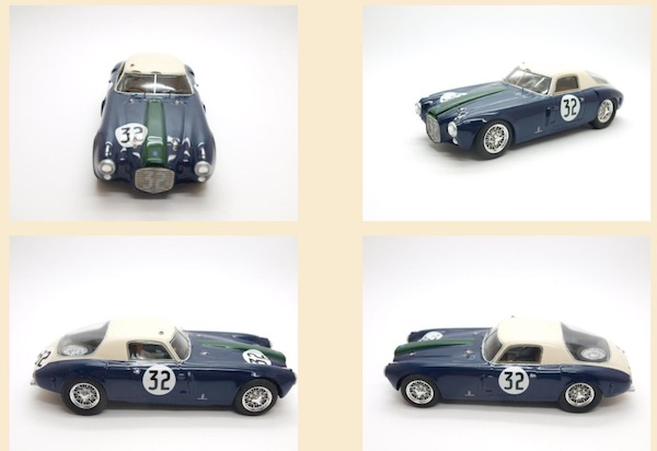 MMK80/4 Lancia D20 Le Mans #32, driver Felice Bonetto and Luigi Valenzano