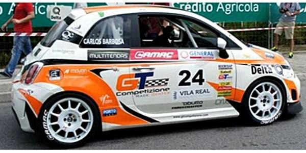 NSR NSR0067SW Abarth 500 Trofeo Portogallo #24