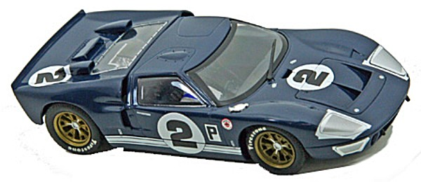 Scalextric C3066 Ford GT40, Sebring 1966 (C)